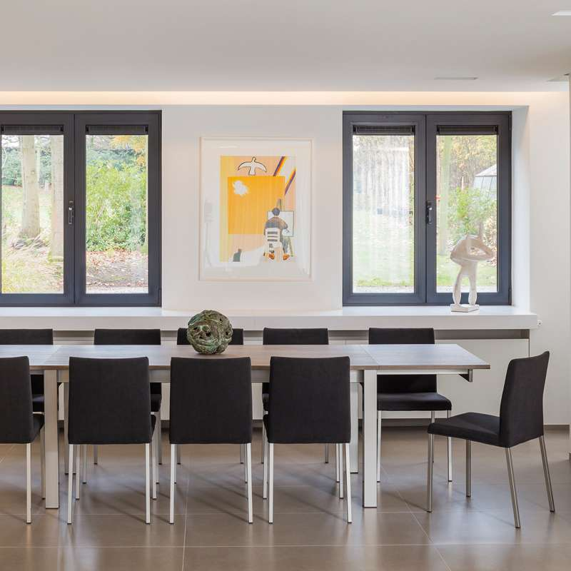 Table de cuisine extensible en stratifi alicante 4 - Table de cuisine en stratifie ...