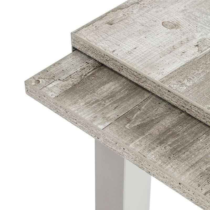 Table de cuisine extensible en stratifi vienna 4 for Table 4 pieds