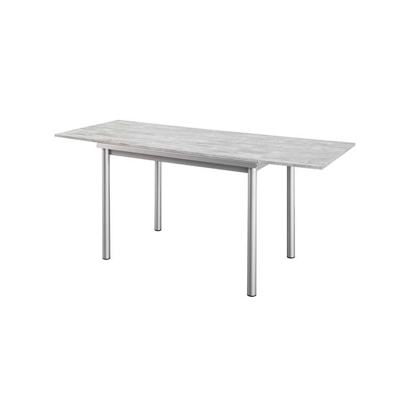 Table de cuisine avec rallonge table cuisine avec for Table cuisine murale avec pied