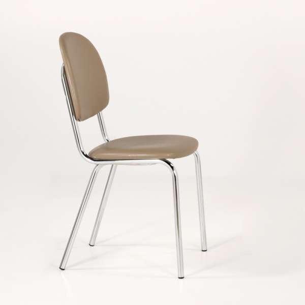 Chaise de cuisine en métal et synthétique - STR05 3 - 3