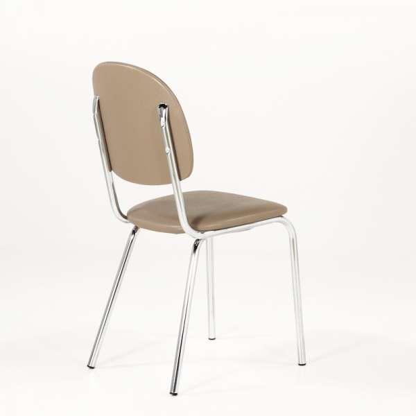 Chaise de cuisine en métal et synthétique - STR05 4 - 4