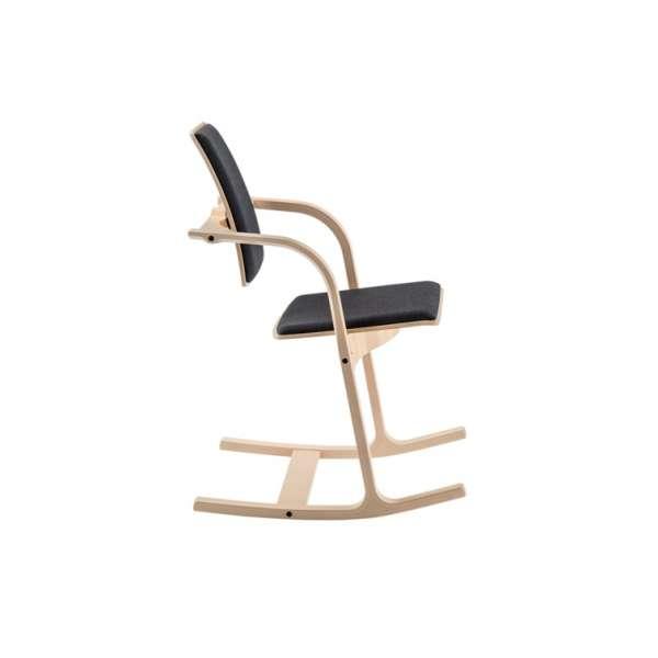 Chaise de bureau ergonomique noire - Actulum Varier® - 2