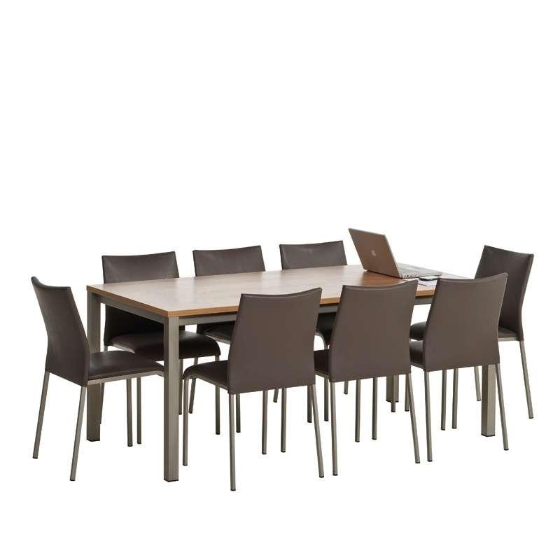 Table de cuisine rectangulaire en stratifi vienna 4 - Table cuisine rectangulaire ...