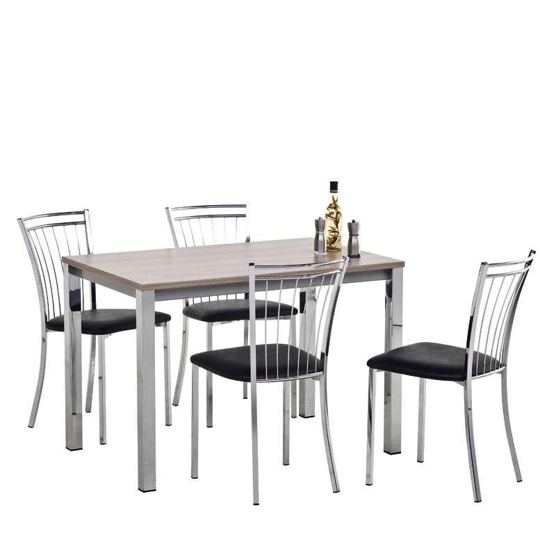Table de cuisine rectangulaire en stratifi vienna 4 - Table rectangulaire cuisine ...