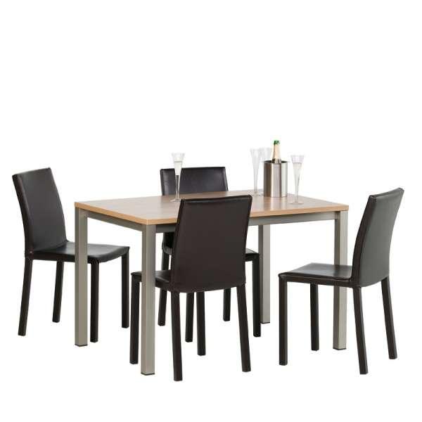 Table de cuisine rectangulaire en stratifié - Vienna 5 - 5