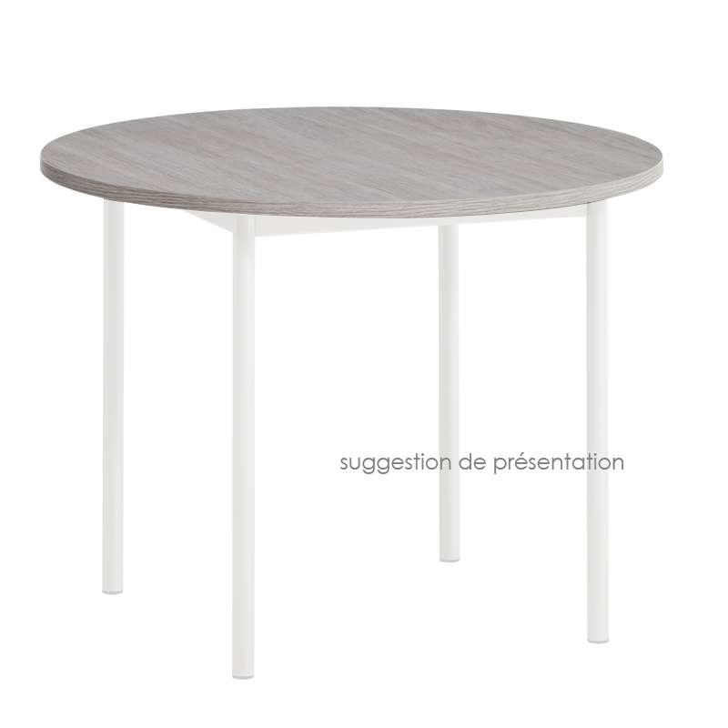 plateau de table rond ou carr en stratifi 4. Black Bedroom Furniture Sets. Home Design Ideas