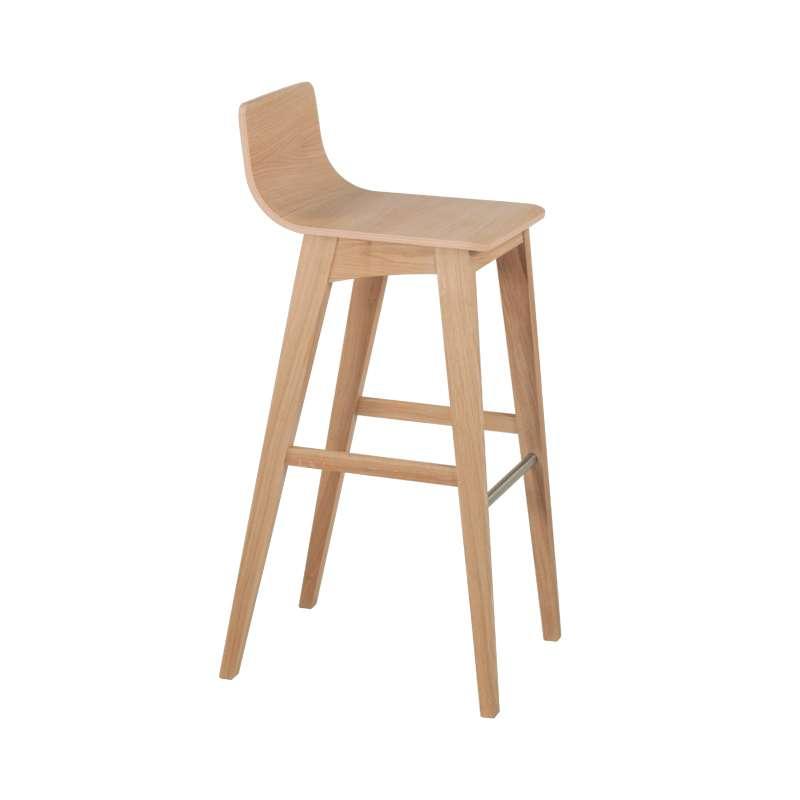 tabouret de bar ou snack moderne en bois enoa 4. Black Bedroom Furniture Sets. Home Design Ideas