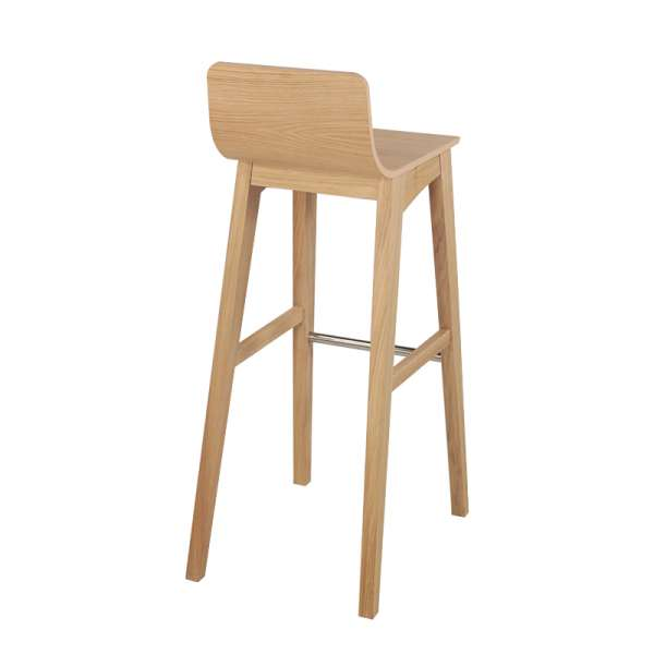 tabouret de bar ou snack moderne en bois enoa 4. Black Bedroom Furniture Sets. Home Design Ideas