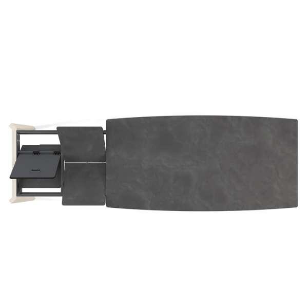 Système d'allonge en portefeuille  - Table Eclipse 2 - 10