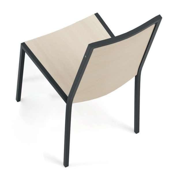 Chaise de cuisine en métal noir et bois Concept 1 - 5