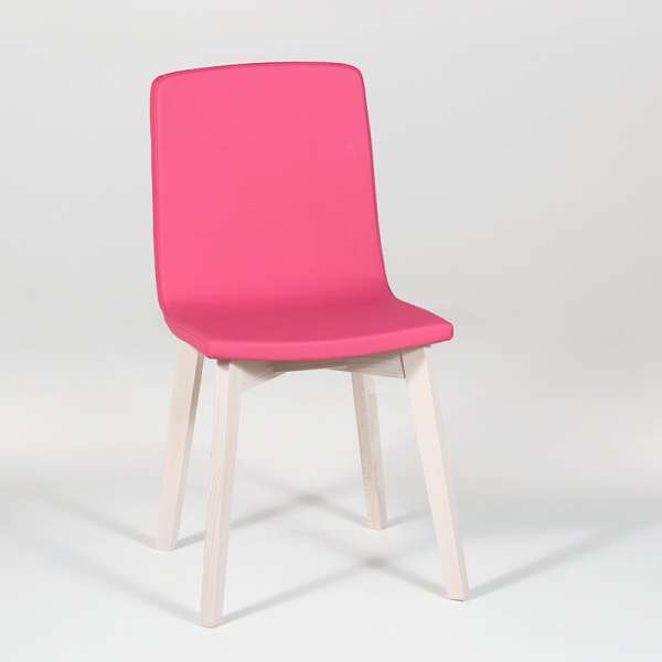 Chaise Moderne En Bois Et Synth Tique Eclipse Confort