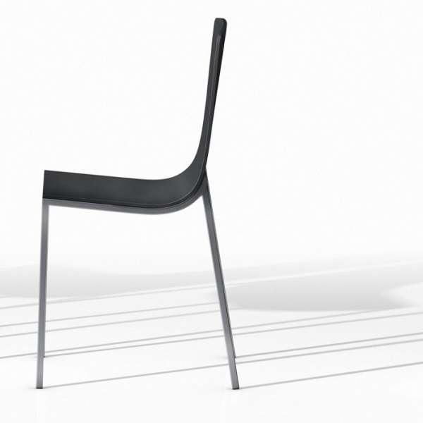 Chaise de cuisine design en métal et bois - Hot 3 - 3