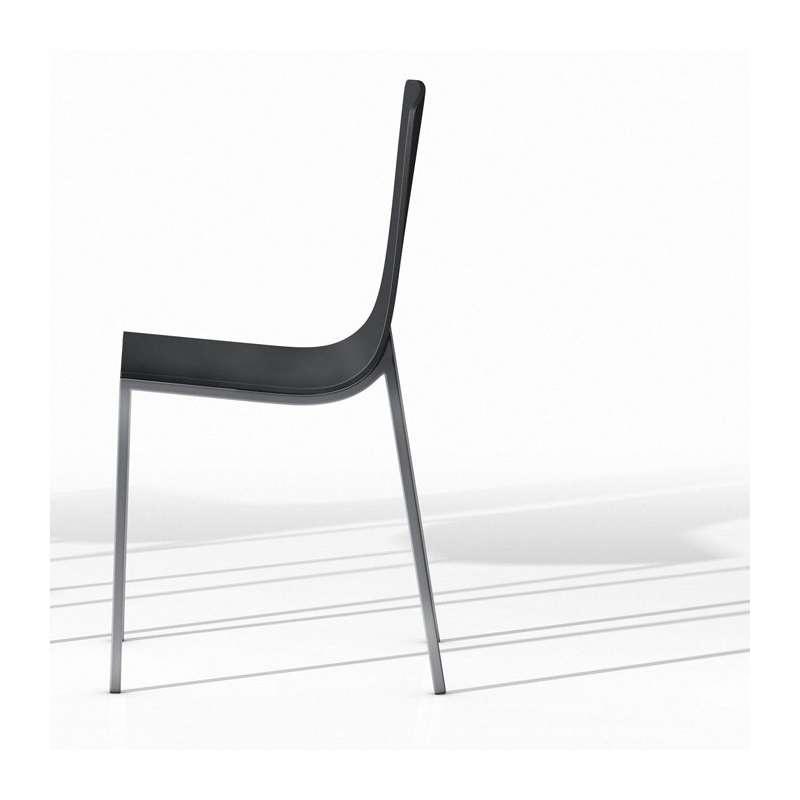 Chaise de cuisine moderne en métal et bois - Hot - 4 Pieds ...