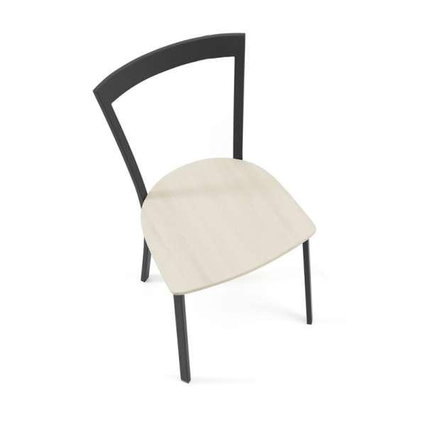 Chaise de cuisine métal et bois - Spirit - 2