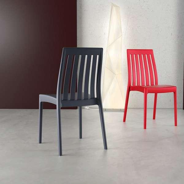 Chaise en polypropylène - Soho - 2