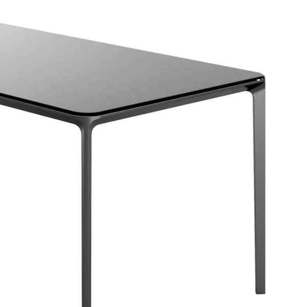 Table design rectangulaire en verre  - Slim 10 Sovet® 8 - 8