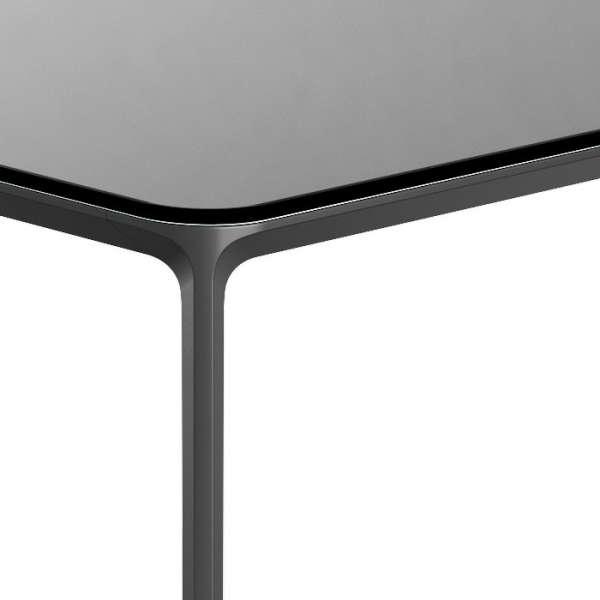 Table design rectangulaire en verre  - Slim 10 Sovet® 9 - 9