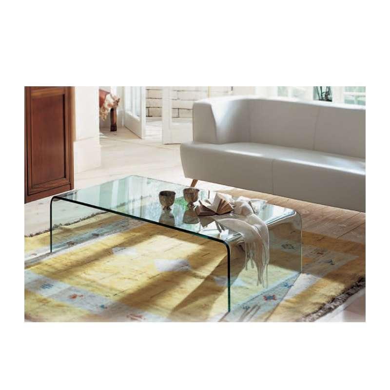 table basse moderne rectangulaire en verre bridge sovet 4. Black Bedroom Furniture Sets. Home Design Ideas
