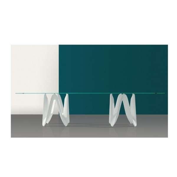 Table en verre design - 320cm x 120cm - Lambda Sovet® - 2