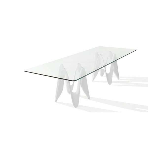 Table en verre design - 320cm x 120cm - Lambda Sovet® 3 - 3