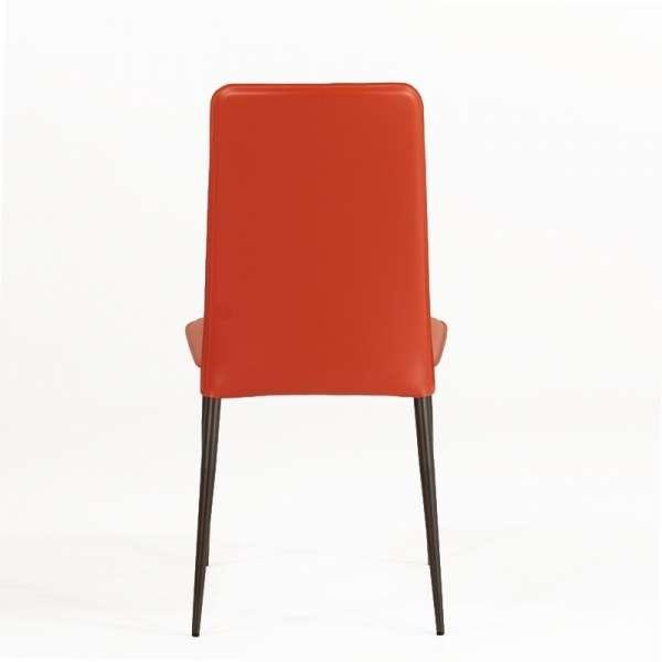 Chaise en croûte de cuir -  Ely-Plus 4 - 5