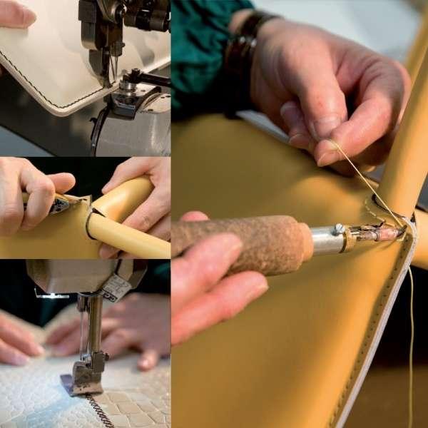 Chaise en croûte de cuir -  Ely-Plus 10 - 10