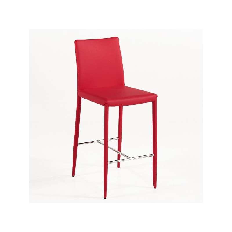 tabouret contemporain en cuir beo 4 pieds tables. Black Bedroom Furniture Sets. Home Design Ideas