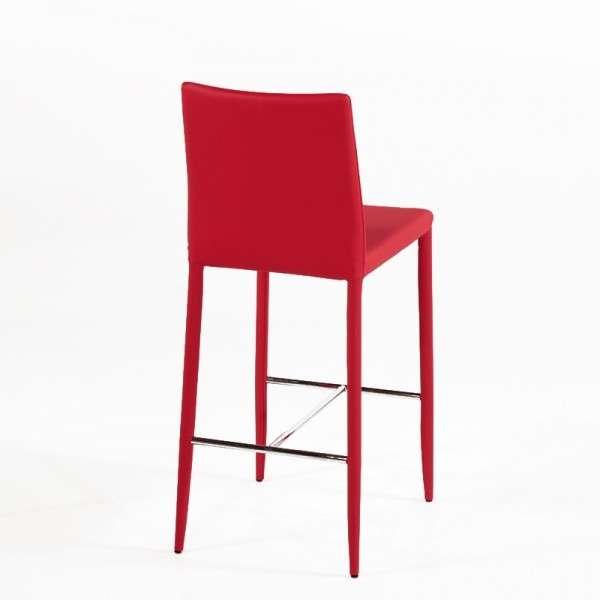 tabouret contemporain en cuir beo 4 pieds tables chaises et tabourets. Black Bedroom Furniture Sets. Home Design Ideas