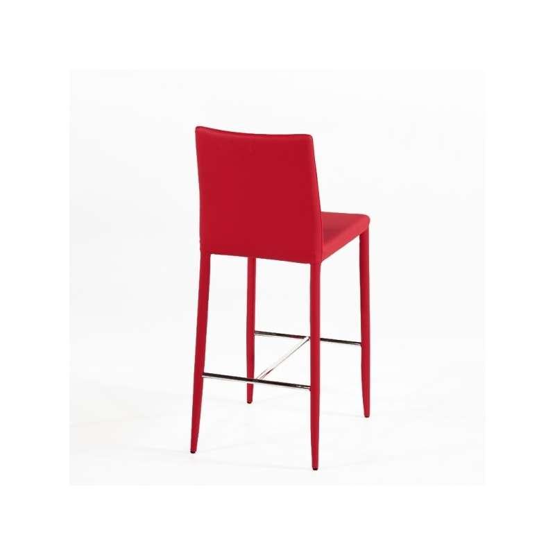 Tabouret contemporain en cuir beo 4 pieds tables chaises et tabourets - Tabouret 3 pieds ikea ...