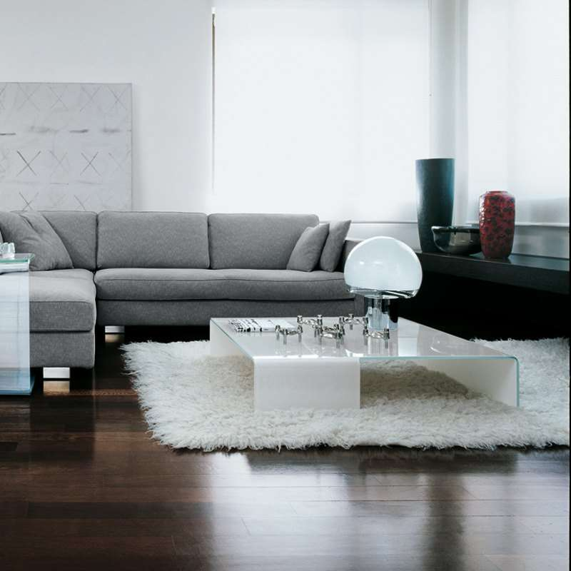 table basse design rectangulaire en verre spider sovet 4. Black Bedroom Furniture Sets. Home Design Ideas