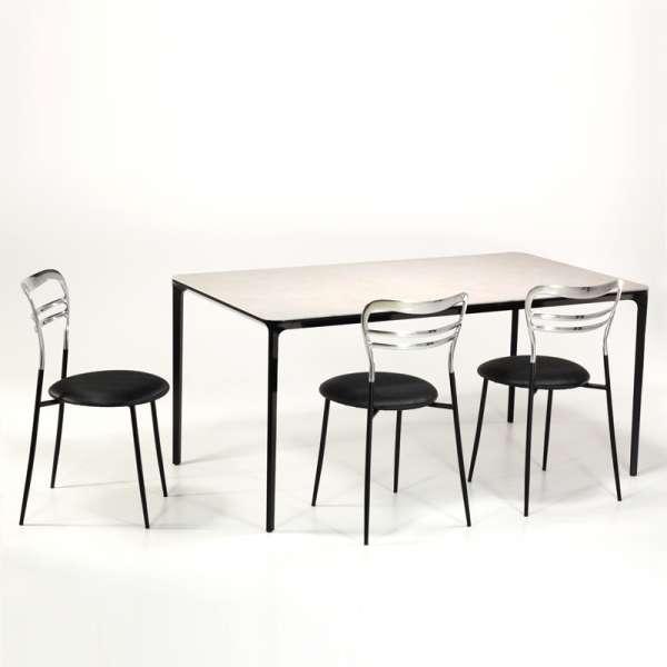 Table en céramique design extensible -  Slim Sovet®