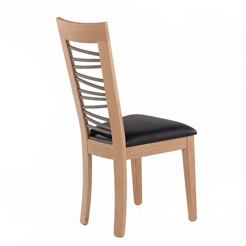 Chaise dos bois fantaisie crocus 4 pieds tables - Chaise qui se balance ...