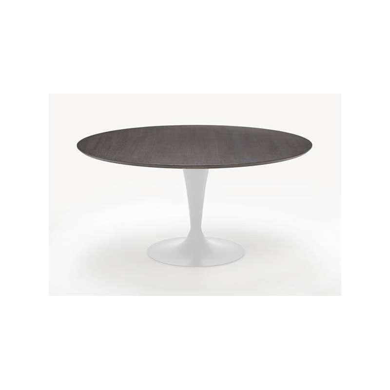 Table ronde design plateau bois Fl u00fbte Sovet u00ae 4 Pieds tables, chaises et tabou # Plateau Table Ronde Bois