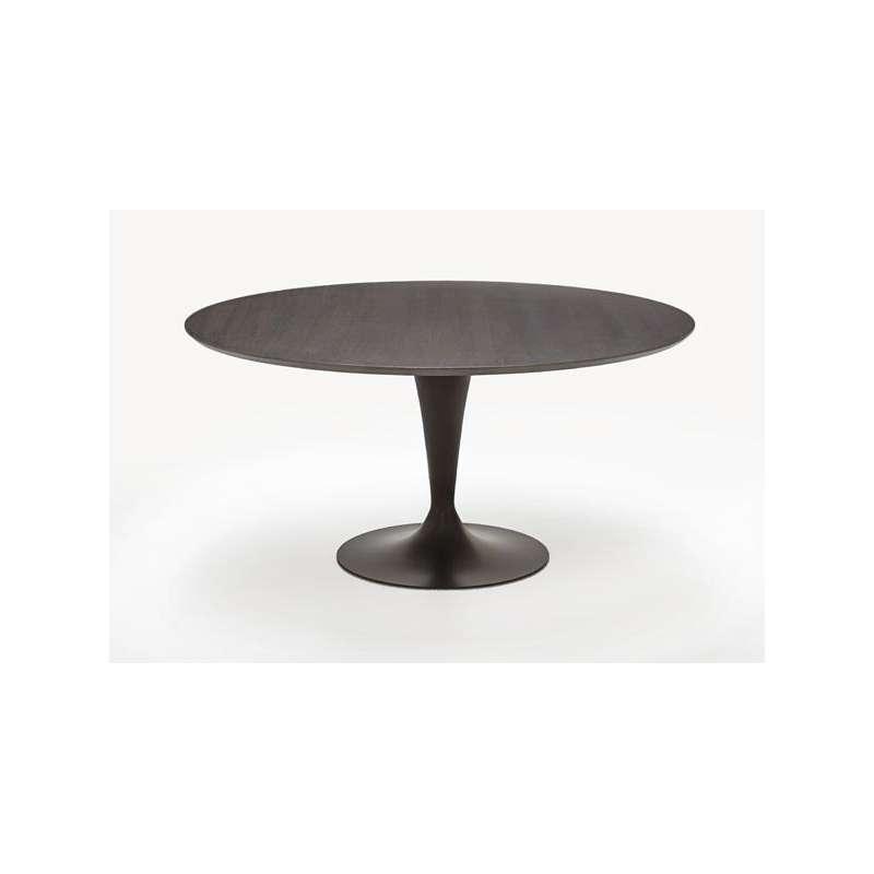 table ronde design plateau bois fl te sovet 4. Black Bedroom Furniture Sets. Home Design Ideas