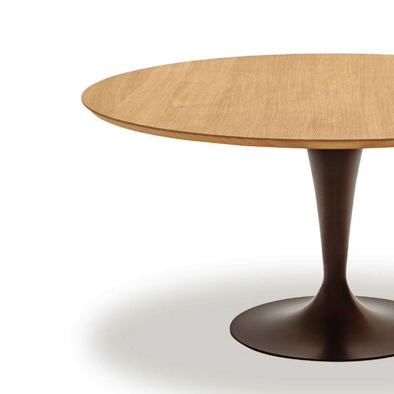 Table a manger ronde design valdiz for Table a manger ronde bois