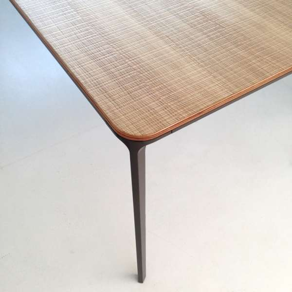 Table design plateau bois - Slim Sovet® 8 - 8