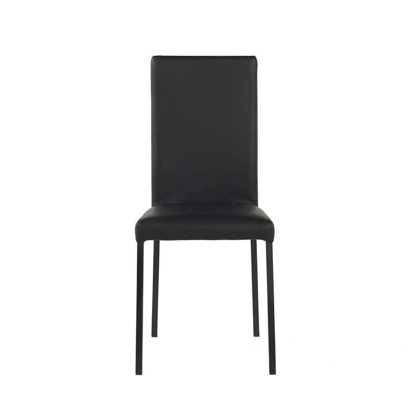 Chaise contemporaine en synth tique eva 4 pieds for Table et chaise contemporaine
