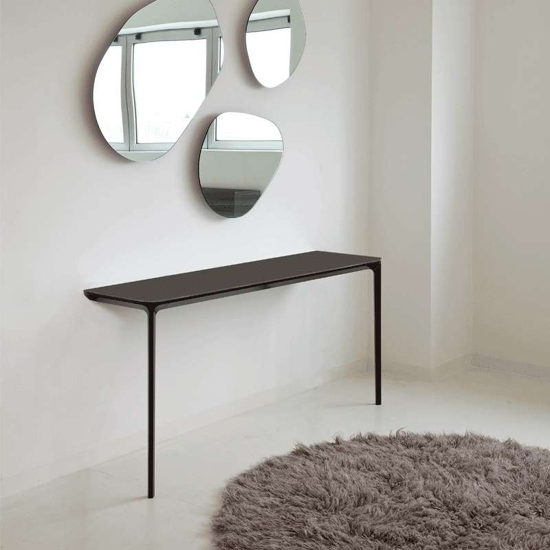 console murale design en c ramique slim sovet 4 pieds. Black Bedroom Furniture Sets. Home Design Ideas