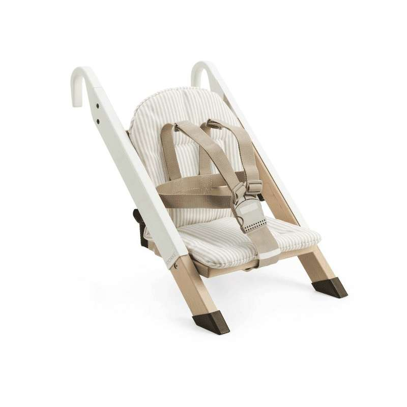 Coussin pour chaise b b handy sitt stokke 4 pieds for Chaise stokke