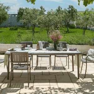 Table de jardin avec allonge - Maestrale 220