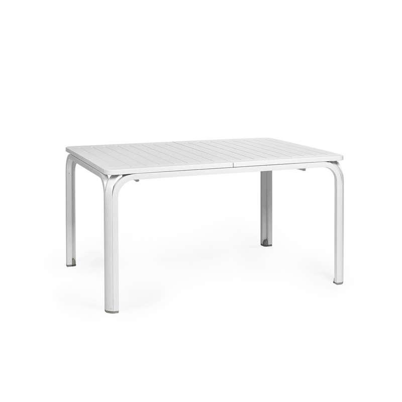 Table de jardin extensible en polypropylène et aluminium - Alloro ...