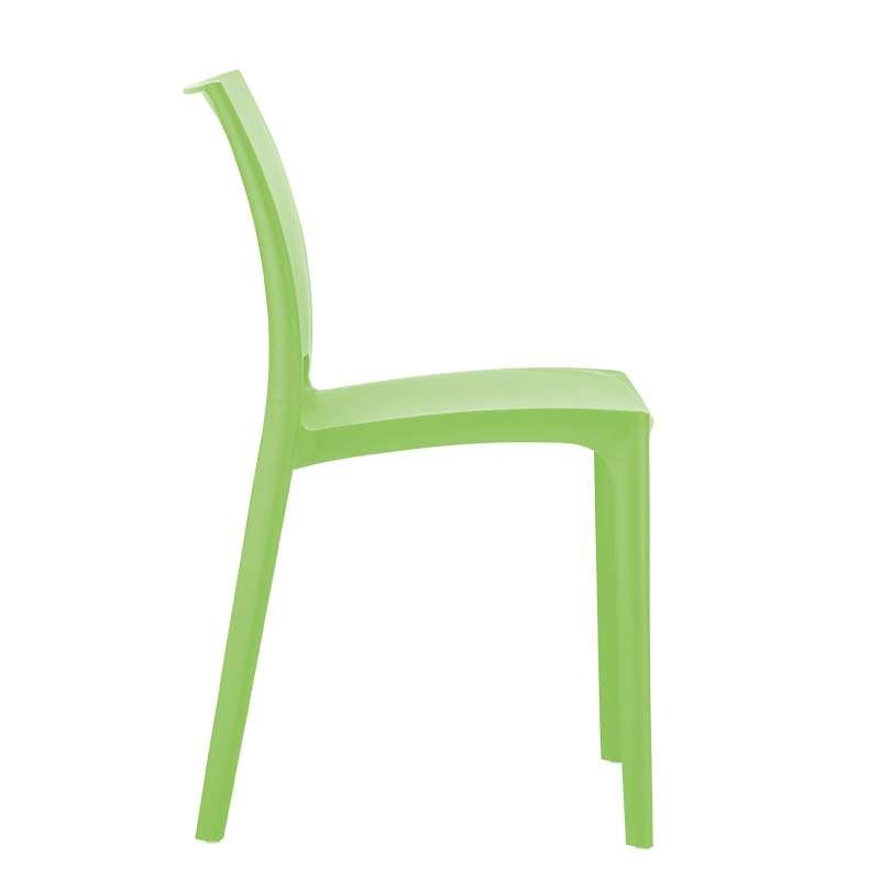chaise de jardin en polypropylne vert tropical maya 2 - Chaise De Jardin