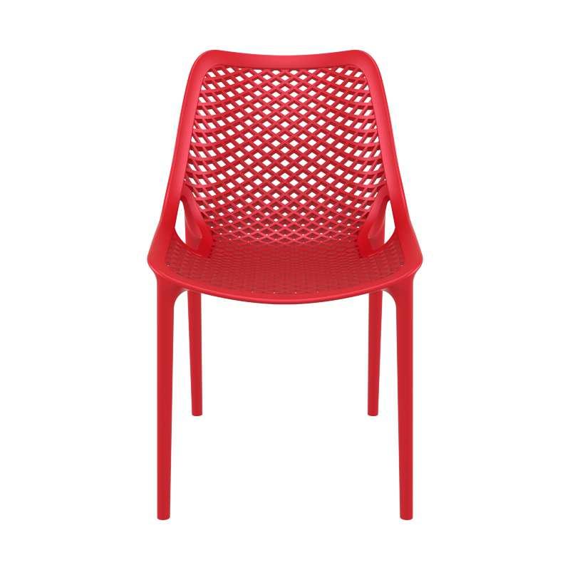 Chaise de jardin moderne ajourée en polypropylène - Air | 4 Pieds ...