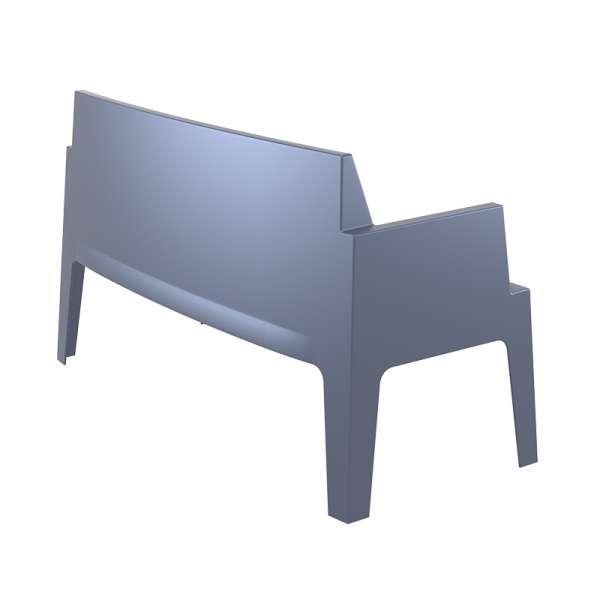 Banquette de jardin en polypropylène gris foncé - Box Sofa - 9