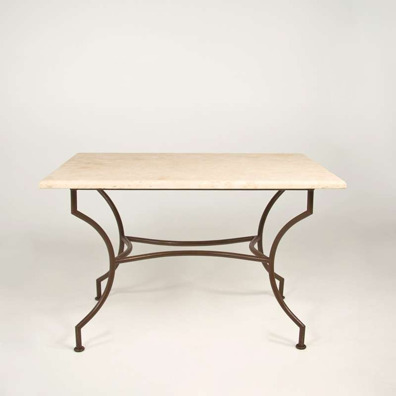 table de jardin en travertin rectangulaire 120 x 80 cm 1280 4. Black Bedroom Furniture Sets. Home Design Ideas