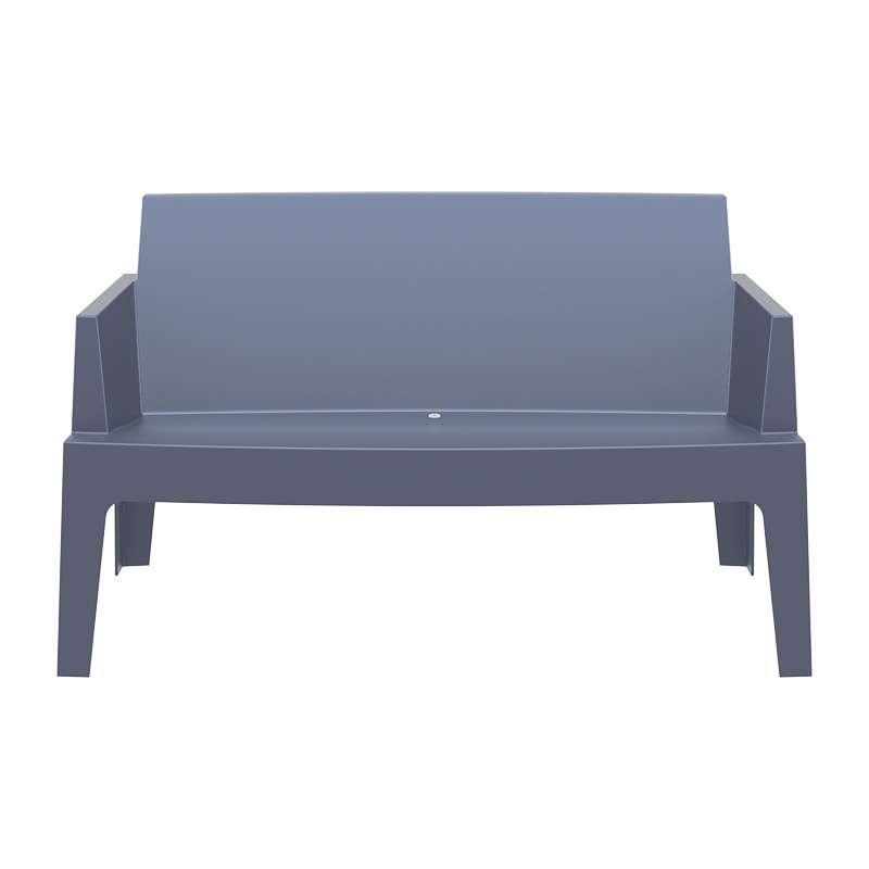 salon de jardin en polypropyl ne box 4. Black Bedroom Furniture Sets. Home Design Ideas