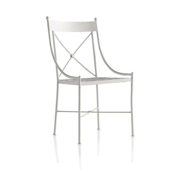 Chaise de jardin style provençal en métal - Paris