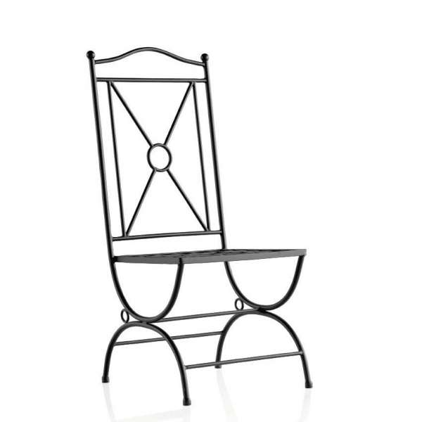 Chaise de jardin en fer forg atenas 4 pieds tables chaises et tabourets - Chaise de jardin fer forge ...
