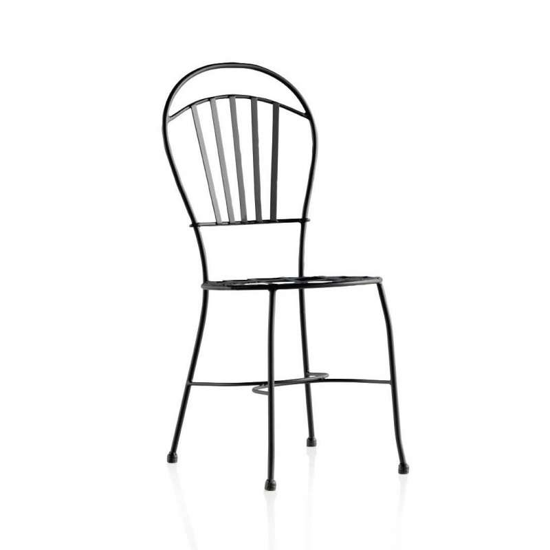 chaise de jardin en fer forg ibiza 4 pieds tables chaises et tabourets. Black Bedroom Furniture Sets. Home Design Ideas