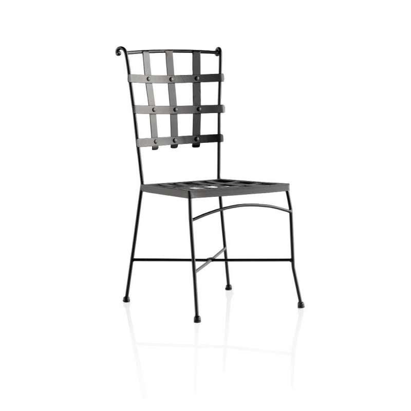 Chaise de jardin en m tal genova 4 - Chaises de jardin en fer ...
